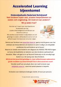 Uitnodiging info avond AL 3 maart 2015