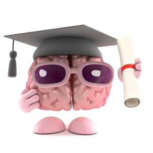 Brain graduates
